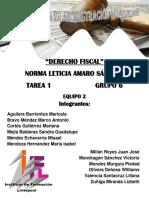 Formato de Portafolios t1 Derecho Fiscal