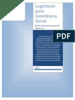Legislação para Assistência Social