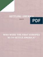 G7 Unit 15 Settling America