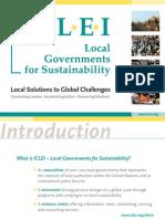 ICLEI brochure english