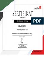 sertifikat-ILHAM TOBING_Mengelola Data Numerik menggunakan Microsoft Excel (Termasuk Makro dan Pivot)