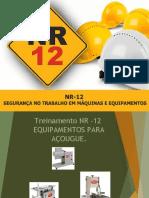 Treinamento NR-12 TELEMACO