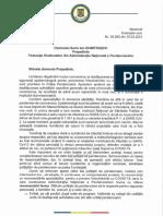 Adresa ANP 29268/15.03.2021 privind sprijinul in combaterea epidemiei de coronavirus