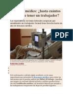 DESCANSO MEDICO HASTA CUANTOS DIAS