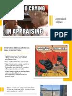 Appraisal Term Project