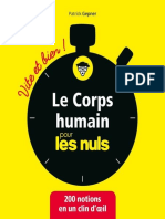 corps humain pour les Nuls - Vite et bien, Le - Patrick Gepner