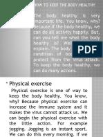 Body Healthy