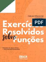 EXERCÍCIOS RESOLVIDOS SOBRE ESTUDO DAS FUNÇÕES - SEBENTA CDI 1 - ESTUDANTE CARNEIRO