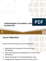 (STATISTICS & PROBABILITY) Unit II - Lesson 1 Understanding the Normal Curve Distribution