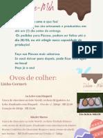 Bege Vermelho Marrom Aquarela Ovos Simples Páscoa Cartão (1)