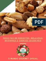 Cookies, Biscoitos, Bolachas e Brownies