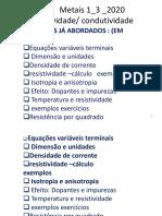 RESISTIVIDADE AULA 1_3_2020