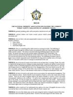 2021-03 Border Security Resolution
