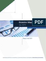 Boletim Macrofiscal Marco 2021