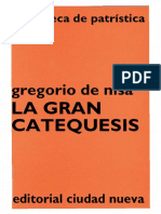 9. GREGORIO de NISA - La Gran Catequesis
