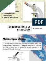 Histologia  diapositivas conceptos basicos clase 2