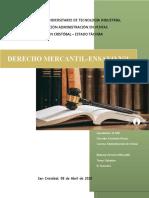 DERECHO MERCANTIL- ENSAYO N° 1