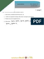 Devoir de Maison N°1 - Math - 3ème Sciences exp _2010-2011_ Mr Harizi-Ezzedin
