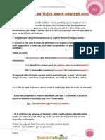 Cours - Français Module 3 L'Accord Du Participe Passée - 9ème (2011-2012) Mlle Sarra 1