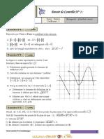 Devoir de Contrôle N°1 - Math - 3ème Sciences exp (2011-2012) Mr Ghadhab lassad