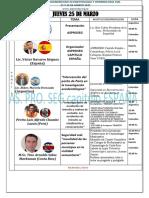 Cronograma Congreso Iberoamericano Acc y Crim Vial II