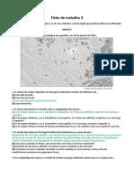Ficha 3 Geografia