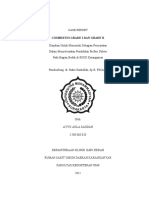 CASE REPORT  COMBUSTIO GRADE 1,II dr. Bakri