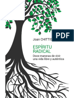 ESPÍRITU RADICAL. Doce Maneras de Vivir Una Vida Libre y Auténtica - JOAN CHITTISTER
