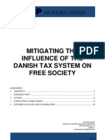 Mitigating the influence of the danish tax system on free society