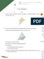 Ficha - Área e volume de sólidos (1) _com soluções