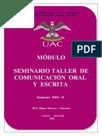 TODO DE TALLER DE COMUNICACION 2019-II
