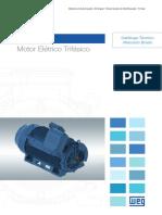 WEG w50 Motor Eletrico Trifasico 50043899 Brochure Portuguese Web