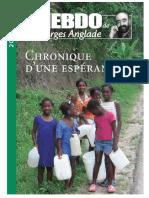 Georges Anglade_Chronique d'Une Espérance