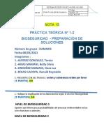 _Grupo _2 Damaris   BIOQUIMICA T.C.1. BIOSEGURIDAD  ALUMNOS
