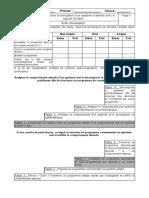 Evaluation barème Modifier un programme complexe
