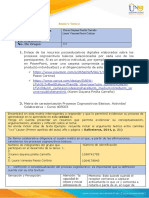 Anexo 1 - Tarea 2 - Matriz de caracterización Procesos Cognoscitivos Basicos...