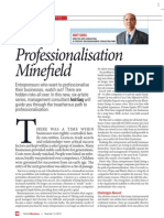 MXV_The Professionalisation Minefield