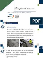 Diseño de mezcla de concreto método del ACI 211.1