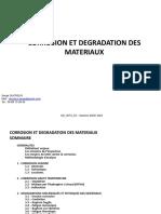 Corrosion Et Degradation Des Materiaux Rev3