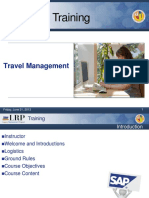 Travel Expenses Overview