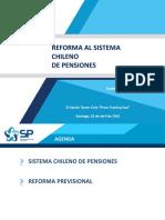 Reforma al Sistema de Pensiones 2019