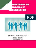 EL MINISTERIO DE LA INTERCESION