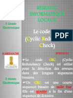 Le Code CRC- Exemple de Calcul