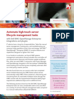 Automate high-touch server lifecycle management tasks - Summary