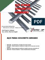 MCC III - Aço para concreto armado