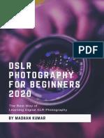 Learning Digital SLR Photography