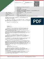 DFL-302_06-ABR-1960 DISPOSICIONES ORGANICAS Y REGLAMENTARIAS DEL MINISTERIO DE MINERIA