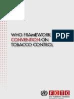 WHO Geneva - Tobacco Amendment