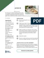 Receta keto - Dieta cetogenica - Fácil y rápida sopa keto de mariscos - Diet Doctor