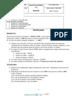 Devoir de Synthèse N°2 - Gestion - 2ème Economie & Gestion (2013-2014) Mr belkhir fethi